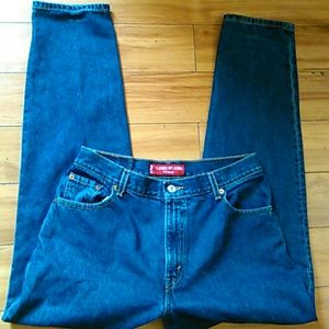 Levi's dark relaxed jeans